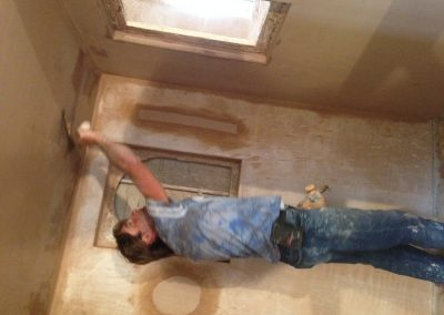 Student Skimming Ceiling
